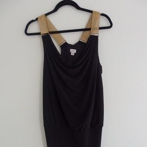 Vintage Cache Dress with Chain Straps